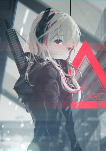 Ảnh Anime nữ chiến binh lạnh lùng