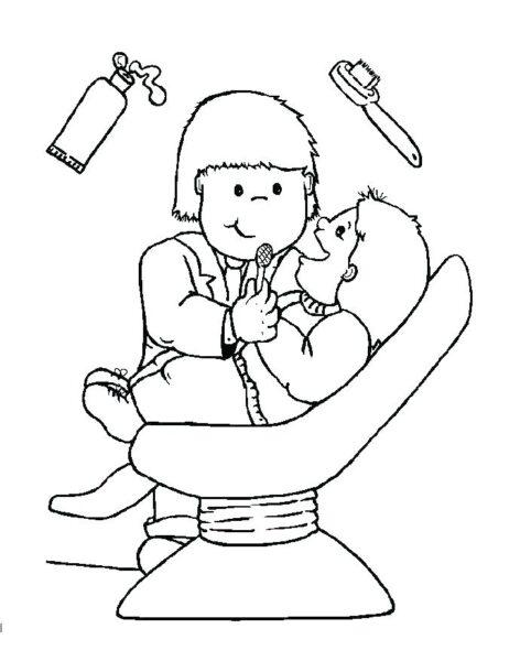 Ảnh vẽ bác sĩ cho bé tập tô (5)