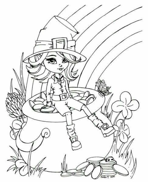 Ảnh vẽ cầu vồng đẹp cho bé tập tô (4)