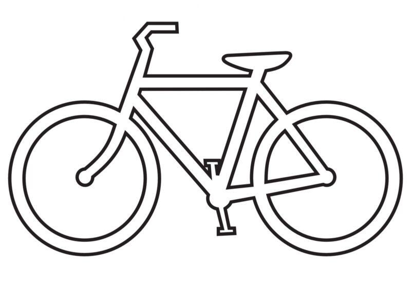 Cách vẽ xe đạp dễ nhất