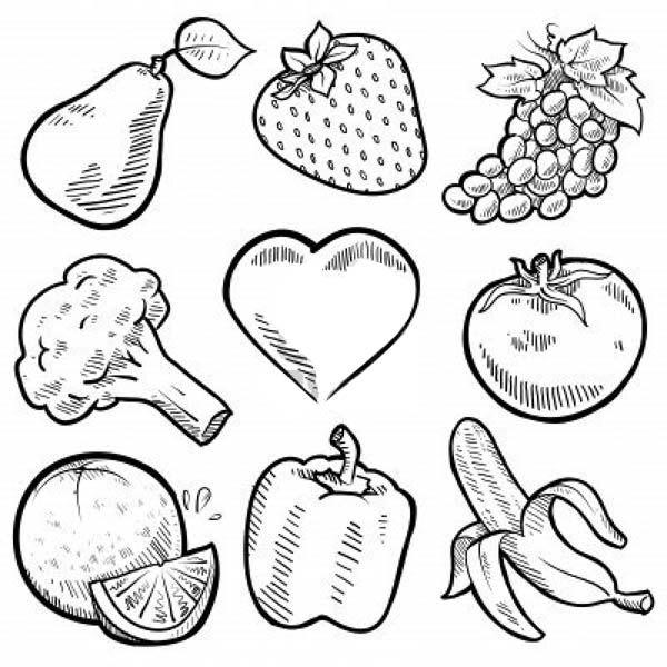 Giáo án tô màu các loại rau củ quả