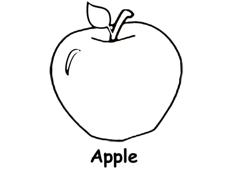 Giáo án tô màu quả táo