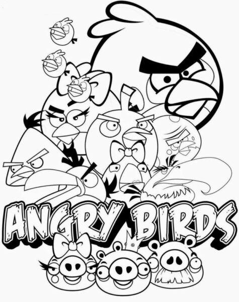 Hình tô màu Angry Birds cho bé tập tô (6)