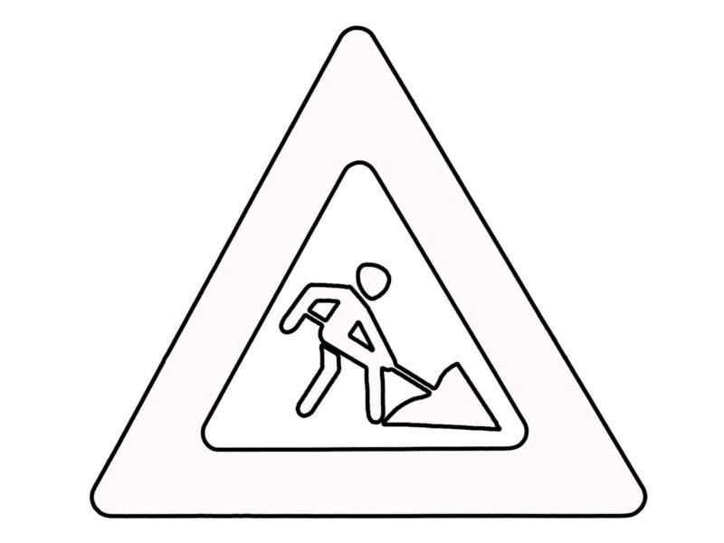 Hình tô màu biển báo giao thông cho bé tập tô (4)