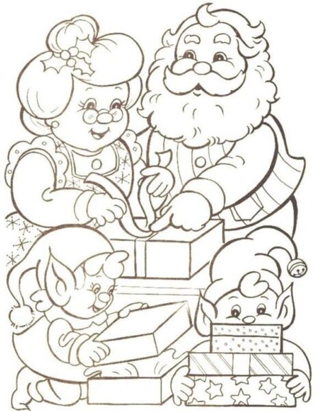 santa claus coloring page Beautiful 139 best Christmas Coloring