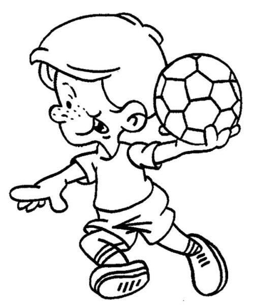 Hình tô màu quả bóng đẹp cho bé tập tô (2)