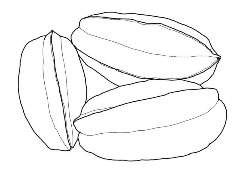 Hình tô màu rau củ quả cho bé tập tô (1)