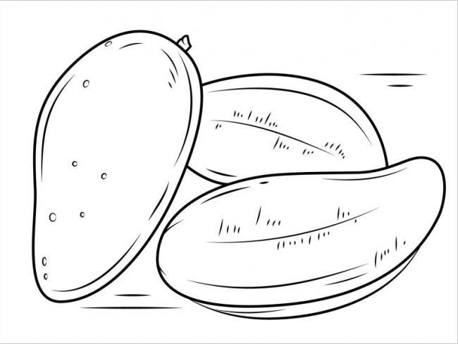 Hình tô màu rau củ quả cho bé tập tô (3)