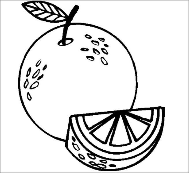 Hình tô màu rau củ quả cho bé tập tô (5)