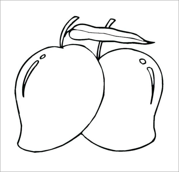 Hình tô màu rau củ quả cho bé tập tô (6)