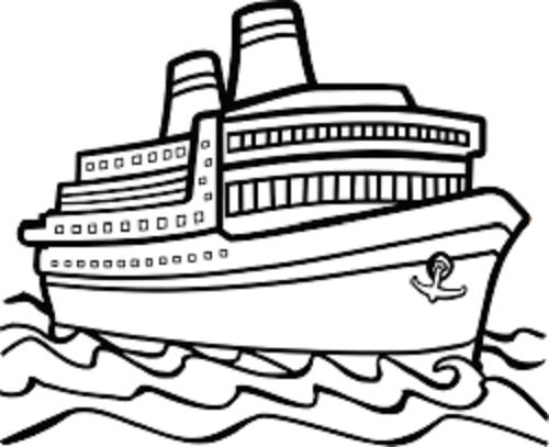 Hình tô màu tàu thuỷ (2)