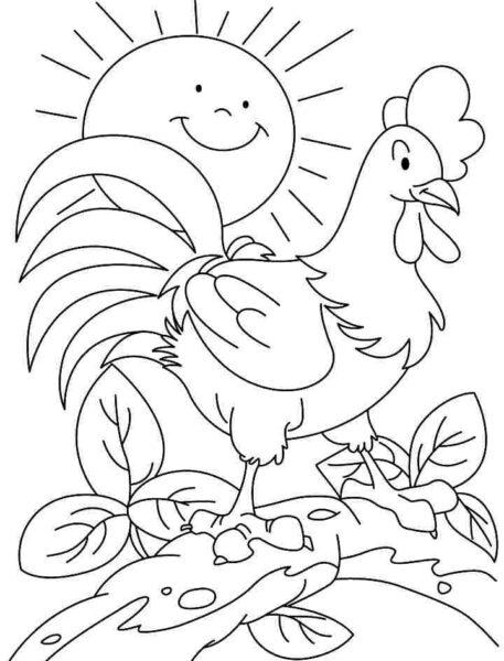 Hình vẽ chưa tô màu cho bé 5 tuổi tập tô (4)