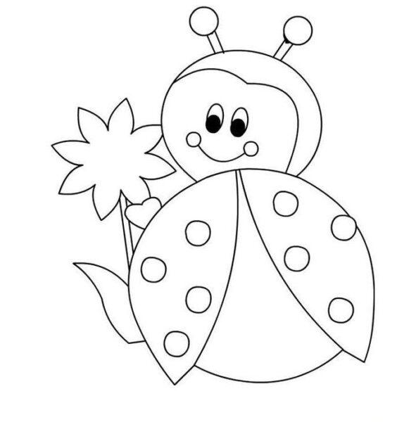 Hình vẽ chưa tô màu cho bé 5 tuổi tập tô (5)