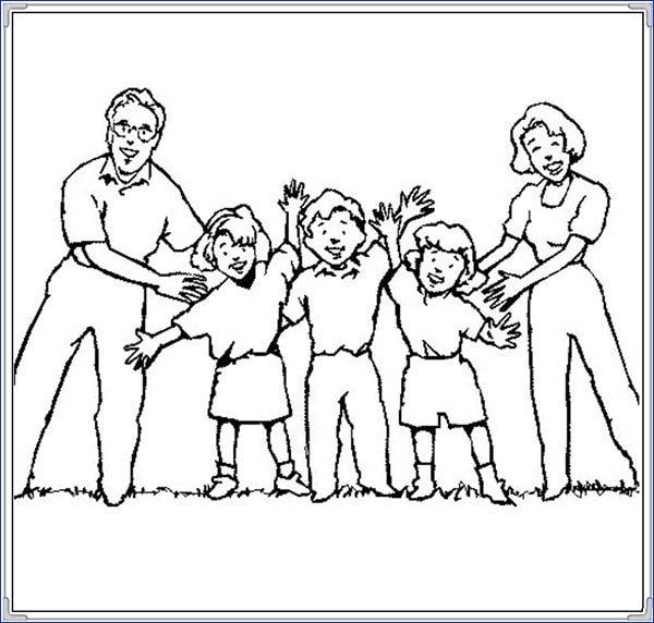 Hình vẽ chưa tô màu cô giáo và học sinh cho bé tập tô (1)