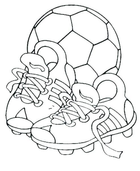 Hình vẽ chưa tô màu quả bóng cho bé tập tô (2)