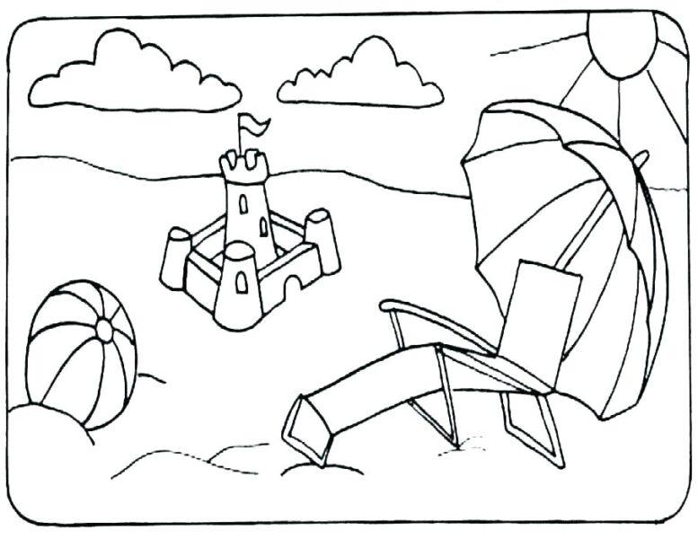 Hình vẽ chưa tô màu quả bóng cho bé tập tô (4)