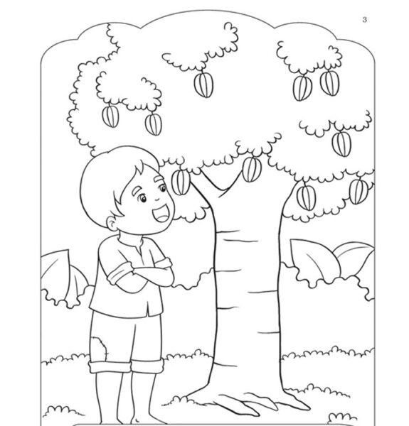 Hình vẽ đen trắng cho bé 5 tuổi tập tô (1)