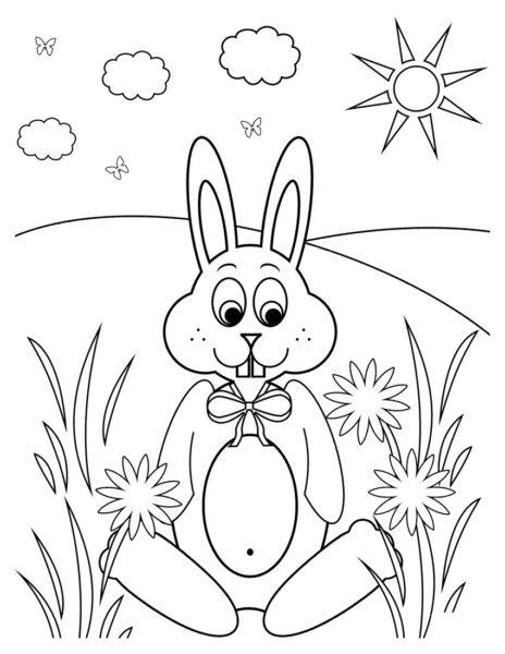 Hình vẽ đen trắng cho bé 5 tuổi tập tô (6)