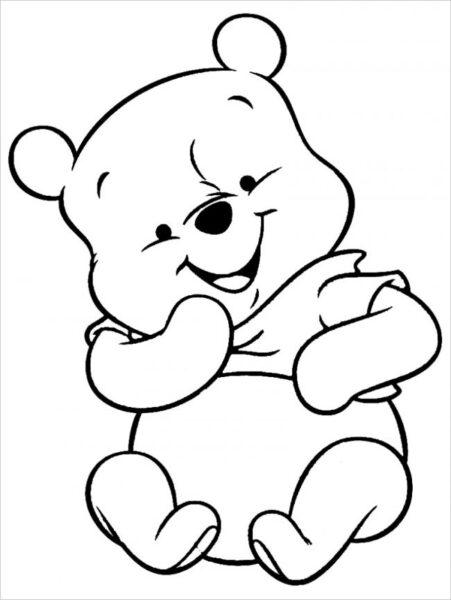 Hình vẽ đen trắng cho bé trai tô màu (5)
