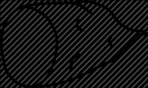 Hình vẽ đen trắng củ khoai lang cho bé tập tô (1)