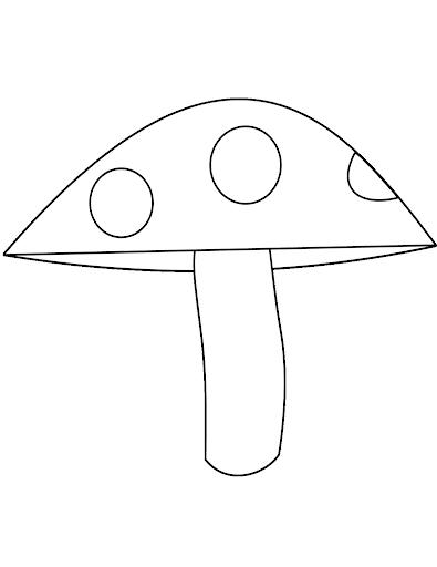 Hình vẽ tập tô cây nấm (1)