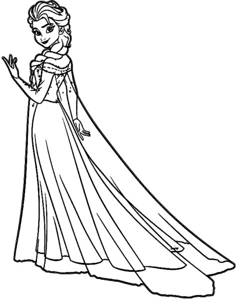 princess elsa coloring pages Inspirational Elsa Coloring Pages bloodbrothers
