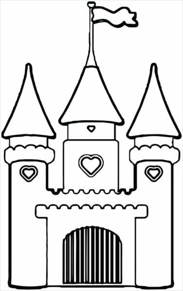 Hình vẽ tập tô lâu đài cho bé tô màu (3)