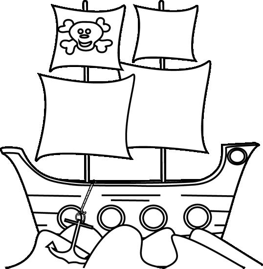Hình vẽ tập tô tàu thuỷ (1)