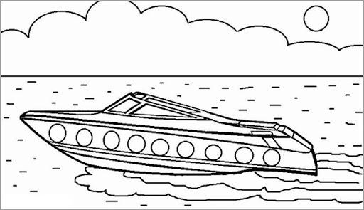 Hình vẽ tập tô tàu thuỷ (6)