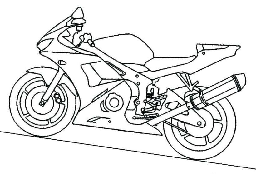 Hình vẽ tập tô xe máy cho bé tô màu (9)