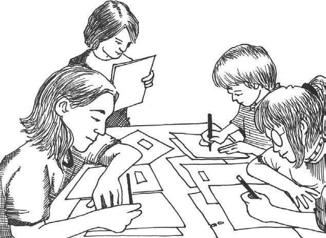 Những tranh tô màu cô giáo và học sinh đẹp nhất cho bé tập tô (4)