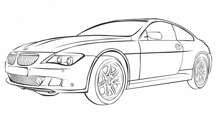 Fresh Bmw Coloring Pages Design Gallery