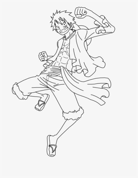 Những tranh tô màu One Piece đẹp nhất cho bé tập tô (7)
