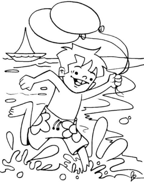 Những tranh tô màu phong cảnh biển đẹp nhất cho bé tập tô (3)