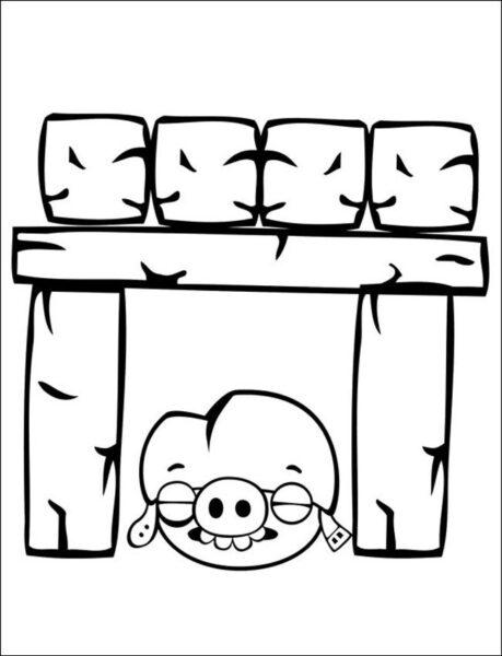 Tranh tô màu Angry Birds cho bé tập tô (37)