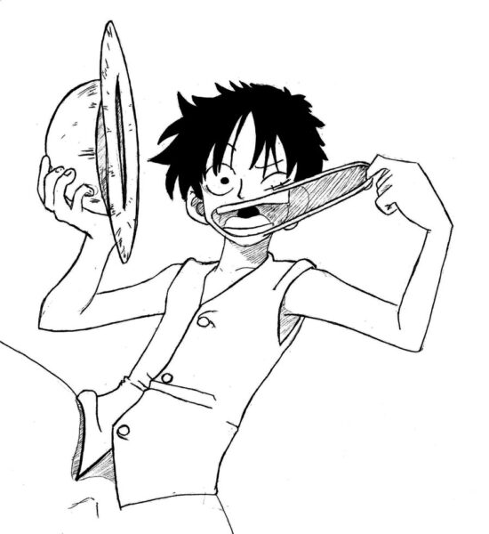 Tranh tô màu One Piece đẹp nhất cho bé tập tô (13)