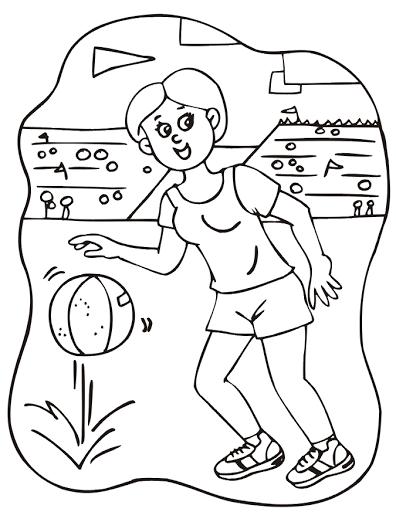 Tranh tô màu quả bóng đẹp cho bé tập tô (11)