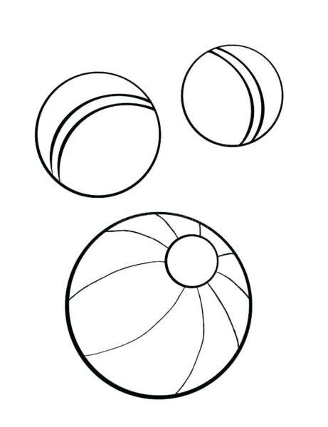 Tranh tô màu quả bóng đẹp cho bé tập tô (21)