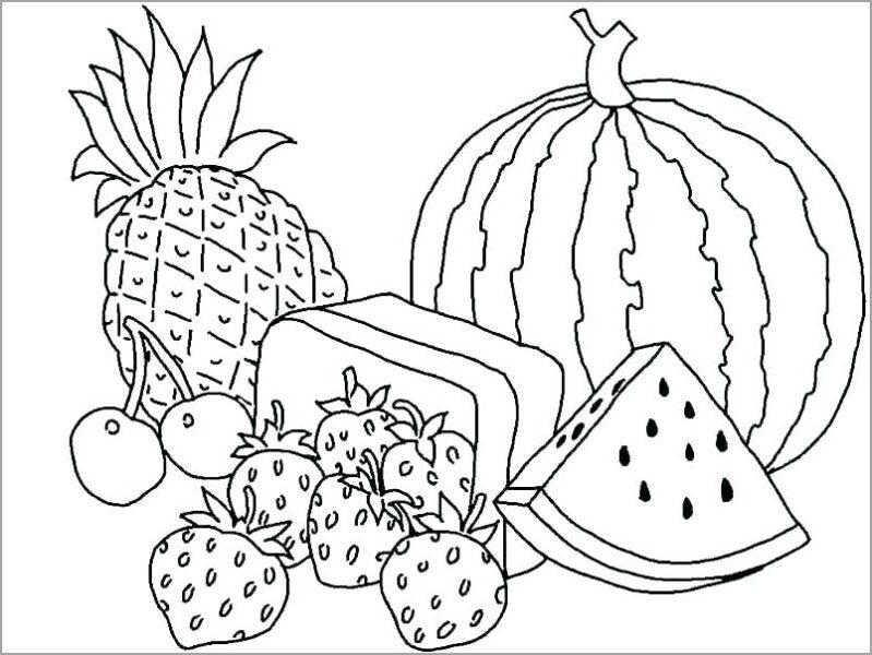 Tranh tô mau quả dưa hấu cho be tập tô (37)