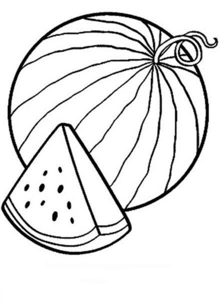Tranh tô mau quả dưa hấu cho be tập tô (42)