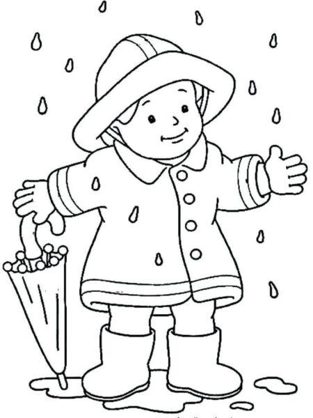 Tranh tô màu trời mưa đẹp nhất cho bé tập tô (30)