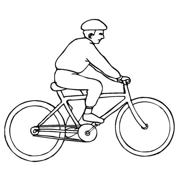 Tranh tô màu xe đạp cho bé tập tô (43)
