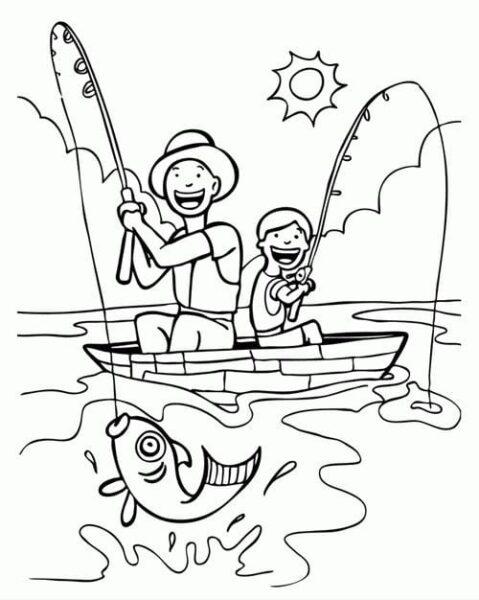 Tranh vẽ chưa tô màu cho bé 10 tuổi tập tô (2)