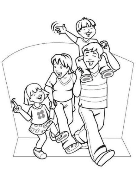 Tranh vẽ chưa tô màu cho bé 10 tuổi tập tô (5)