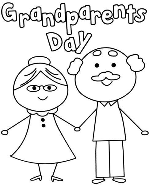 Tranh vẽ chưa tô màu ông bà cho bé tập tô (4)