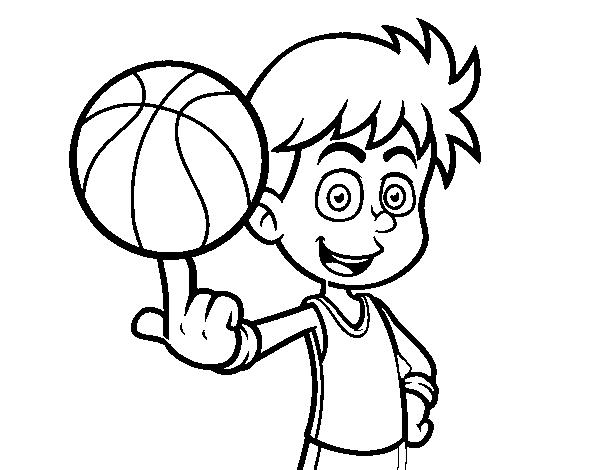 Tranh vẽ chưa tô màu quả bóng cho bé tập tô (1)