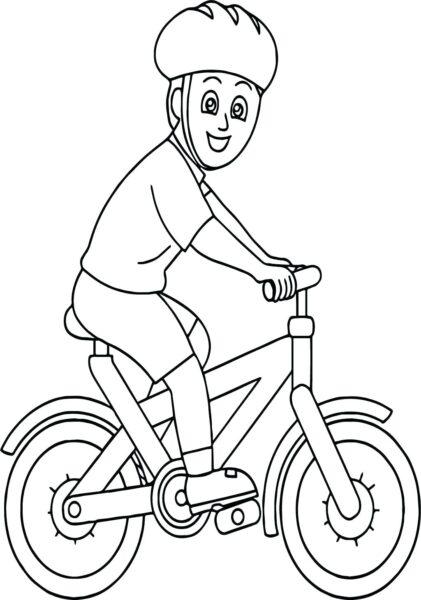 Tranh vẽ đen trắng xe đạp đẹp cho bé tập tô (3)