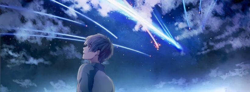 Ảnh bìa anime chất về bầu trời