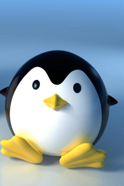 ảnh cánh cụt chibi dễ thương