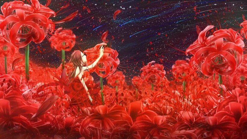 Ảnh hoa bỉ ngạn anime đẹp